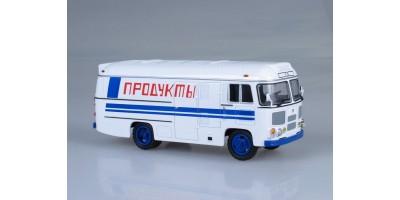 """Масштабная модель ПАЗ-3742 рефрижератор """"Продукты"""""""