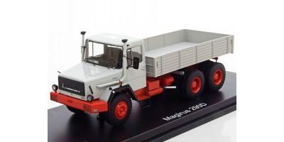 Масштабная модель Magirus 290 D, grey/red, Pritsche