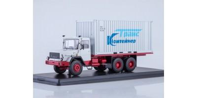 Масштабная модель Magirus-290D контейнер