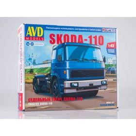 Сборная модель Skoda-110