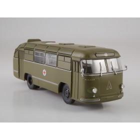 Масштабная модель Наши Автобусы. Спецвыпуск №1, ЛАЗ-695Б Санитарный