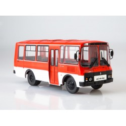Масштабная модель Наши Автобусы №2, ПАЗ-3205