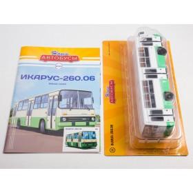 Масштабная модель Наши Автобусы №25, Икарус-260.06