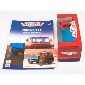 Масштабная модель Легендарные грузовики СССР №4, МАЗ-5337