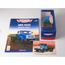 Масштабная модель Легендарные грузовики СССР №16, ЗИЛ-4333