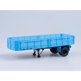 Масштабная модель Полуприцеп МАЗ-5215, голубой