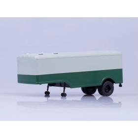 Масштабная модель МАЗ-5217, (серый/зеленый)