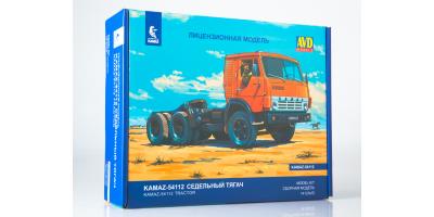 Сборная модель КАМАЗ-54112 седельный тягач