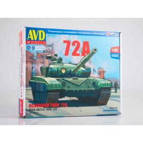 Сборная модель Основной танк Т-72А