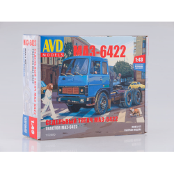 Сборная модель МАЗ-6422 ранний