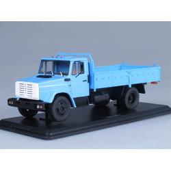Масштабная модель ЗИЛ-4331 бортовой (голубой)