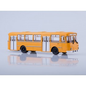 Масштабная модель Ликинский автобус 677М городской (жёлтый)