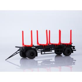 Масштабная модель Прицеп МАЗ-83781 сортиментовоз
