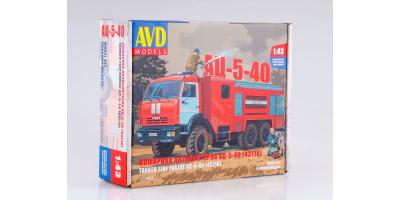 Сборная модель АЦ-5-40 (43118)
