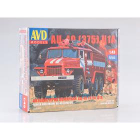 Сборная модель Пожарная цистерна АЦ-40(375)Ц1А