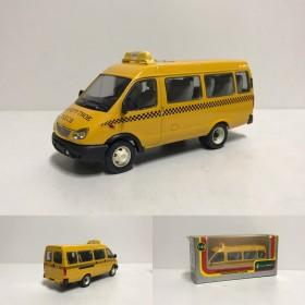 Масштабная модель Газель Маршрутное такси. Сделано в РФ