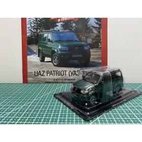 Автолегенды СССР и Соцстран №283 UAZ PATRIOT(УАЗ-3163) с 2005 - 2014 по год тёмно-зелёный