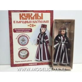 Куклы в народных костюмах №63 Кукла в праздничном костюме крымской татарки