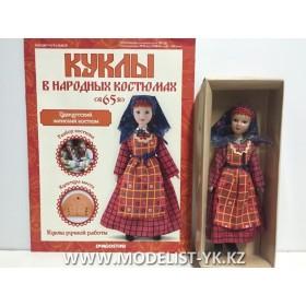 Куклы в народных костюмах №65 Кукла в удмуртском женском костюме