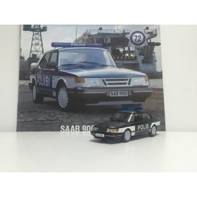 Полицейские Машины Мира №72 - Saab 900 turbo Полиция Финляндии