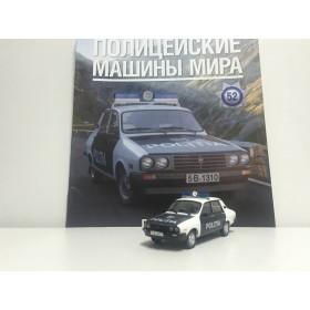 Полицейские Машины Мира №52 - Dacia 1310 Полиция Румынии