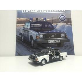 Полицейские Машины Мира №73 - Volvo 244 Полиция Норвегии