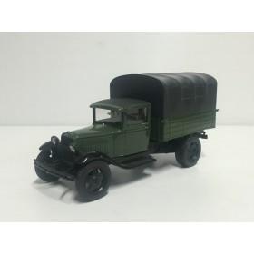 ГАЗ-АА с тентом, зеленый/черный Производитель: Наш Автопром