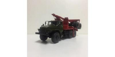 Миасский грузовик 43204-10 лесовоз с прицепом-роспуском