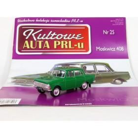 Масштабная модель [№25] Moskwicz 408, Москвич-408, green, 1966. Модель новая в блистере!