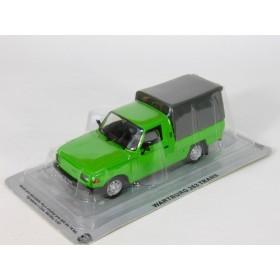 Масштабная модель [№59] Wartburg 353 Trans, green, 1984. Журнал в наличии!