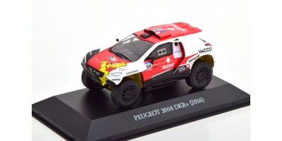 Масштабная модель Peugeot 2008 DKR+ No.328, Rally Dakar Dumas/Borsotto 2016