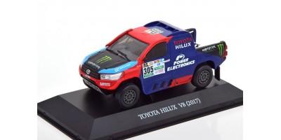 Масштабная модель Toyota Hilux No.305, Rally Dakar Roma/Haro 2017